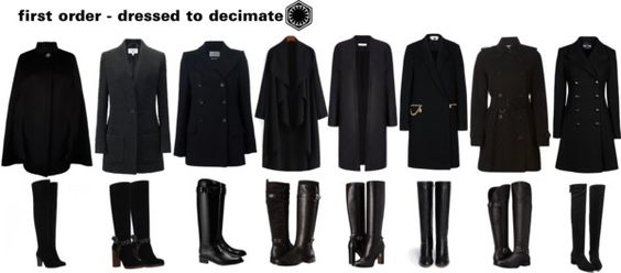 lameb0rgh1ni:THE FIRST ORDER - Dressed to Decimate by gothgoneprep featuring a black cape