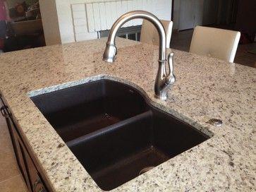 Granite Sink Sealer : sinks faucets phoenix decor sinks granite contemporary homes kitchens ...