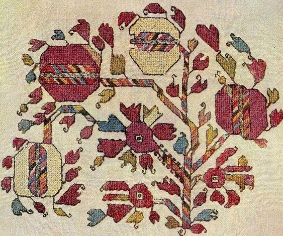 О болгарской народной вышивке.  Крохи.  2. - тракттекстил