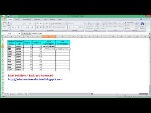 How To Use Excel If Function With And Or Combined With Examples Excel Tutorials Excel Excel Formula