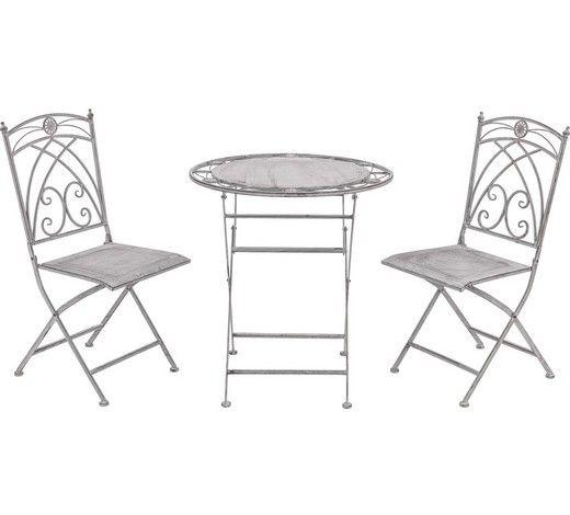 Gartenset Aus Eisen Mit Tisch Und 2 Stuhlen Nostalgie Pur