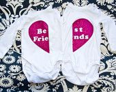 Best Friends Shirt Set - for the girls