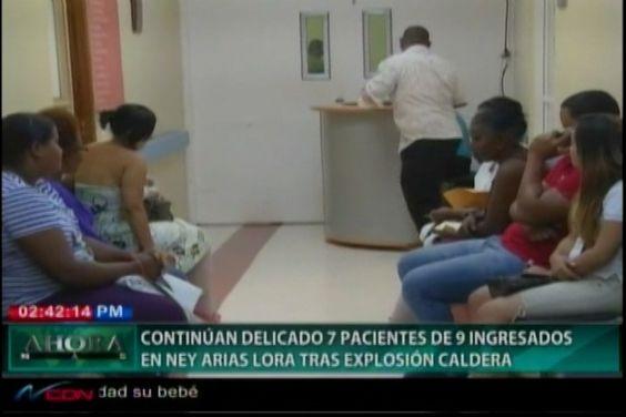 Aún En Estado Delicado 7 De Los 9 Ingresados Tras Explosión De Caldera En San Cristóbal