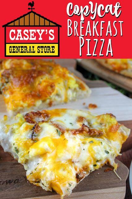 Copycat Casey's Breakfast Pizza