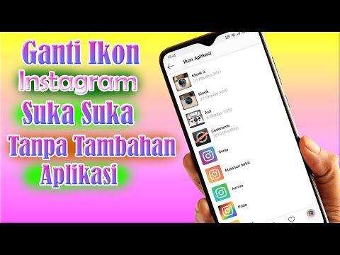 Cara Ubah Ikon Instagram Android Tanpa Aplikasi Tambahan Logo Instagram Youtube Ikon Instagram Logo Instagram Instagram