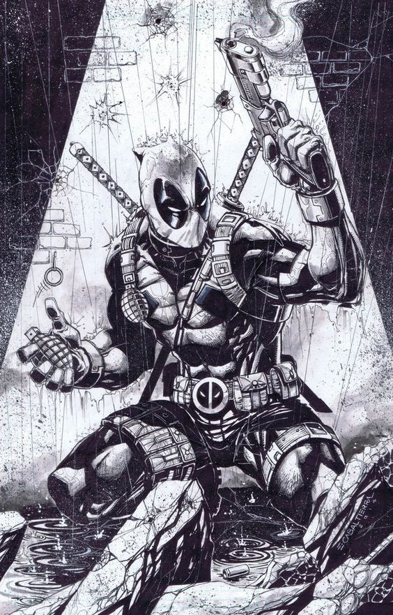 Click Here To Get More Deadpool Coloring Pages Coloring Coloring Book Coloring Sheet Coloring Pages Coloring Pa Deadpool Artwork Deadpool Art Deadpool Drawing