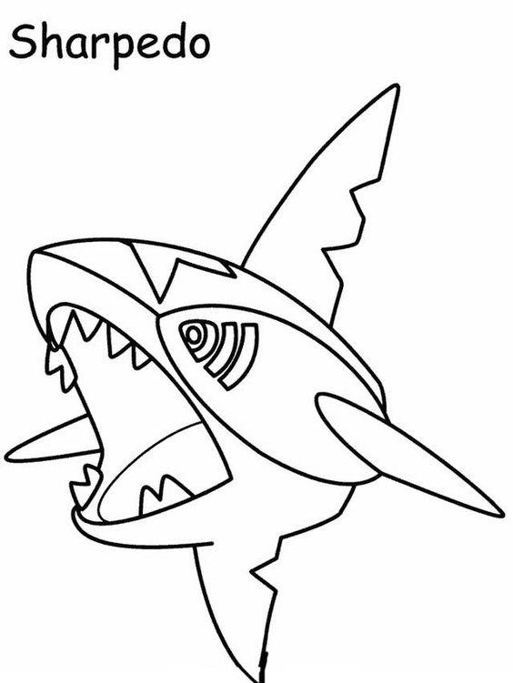 Desenhos para pintar Pokemon 65