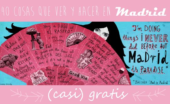 40 COSAS QUE VER Y HACER EN MADRID GRATIS (O CASI)