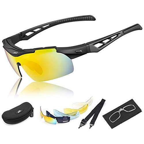Hihill Fahrradbrille Polarisierte Sport Sonnenbrille Fur Herren