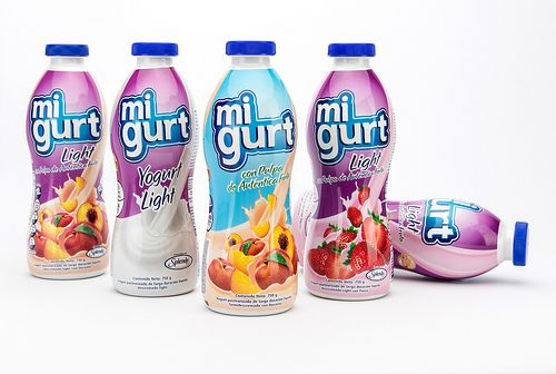 MiGurt ambient stored yogurt drinks