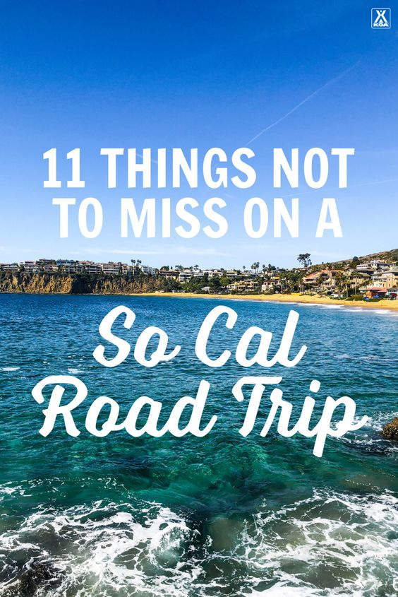 Southern California is home to some of the most iconic places in the country. With so much to see and do, you don't want to miss out on these 11 So Cal sites. Here's our favorite things to see in Southern California.