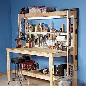 Free Workbench Plans