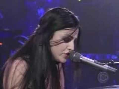 Evanescence. My Immortal. Love this song. And learning this on the piano. Its hard to sing and play.