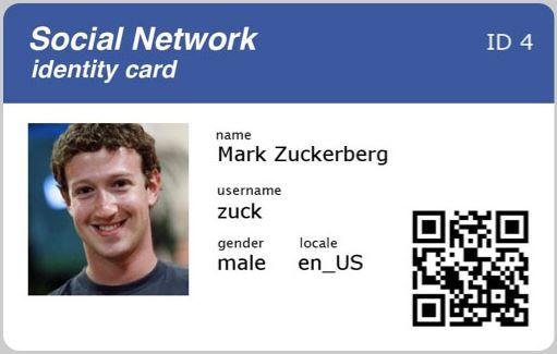 Facebook Id Facebook Id Card Create Facebook Id Card Facebook Id Card App Moms All Cards Film Strip Graphic Design Typography