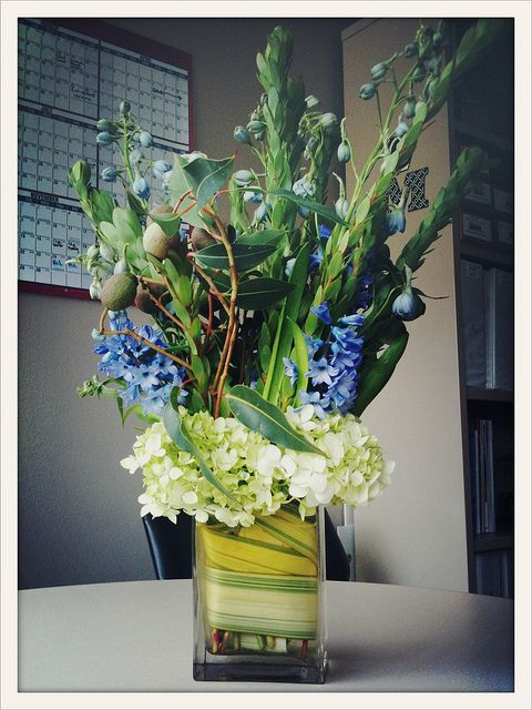 High floral arrangement
