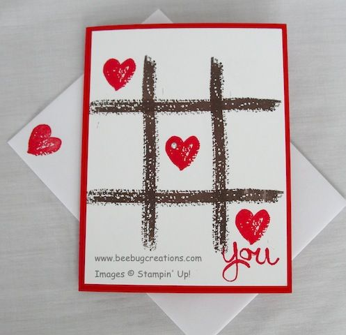 Work of Art Valentine Card | BeeBug Creations