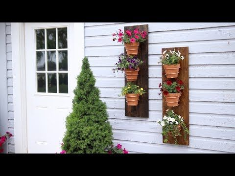 279 Copper Wire Wall Planter Garden Answer Youtube