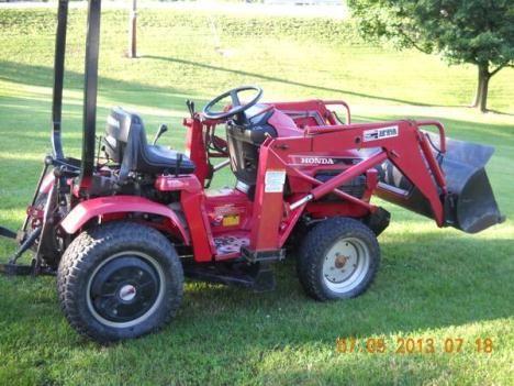 honda 5518 compact tractor 4 wheel drive 4 wheel