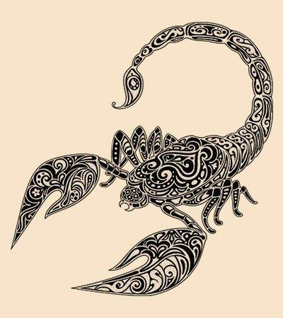 Scorpion tattoo idea