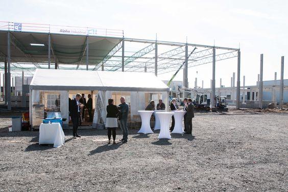 Im Industriepark von Alpha Industrial werden 22.000 Quadratmeter hochmoderne Neubauflächen entstehen.