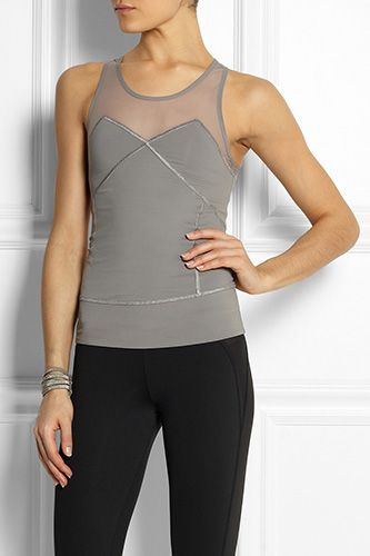 Adidas By Stella McCartney Run Climalite Stretch-Jersey Tank Top, £65, available at Net-A-Porter.