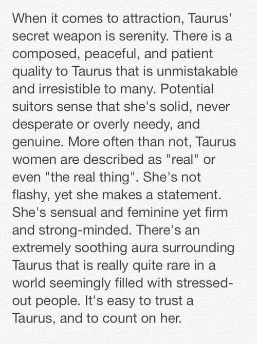 What To Expect When Dating A Taurus Woman