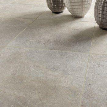 Salon carrelage beige salon : Carrelage sol et mur beige effet pierre Pietra l.60 x L.60 cm ...