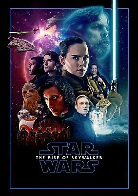 Details About Star Wars The Rise Of Skywalker Movie Poster 2019 New 11x17 13x19 2020 スターウォーズアート スターウォーズ 壁紙 スターウォーズ