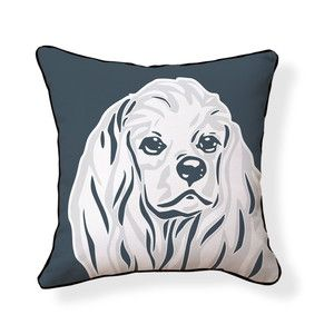 Cocker Spaniel Pillow 18x18, $35, now featured on Fab.