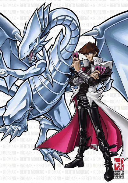 Kaiba and Blue-Eyes White Dragon by Riomak on DeviantArt. Yu-Gi-Oh
