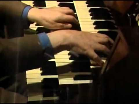 Olivier Messiaen improvising on the organ where he was organist for many years.