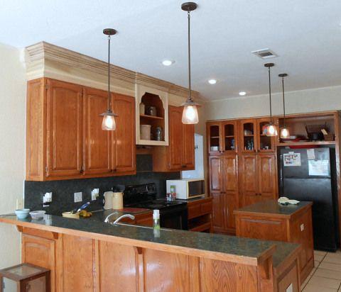 Project: making an upper wall cabinet taller (kitchen) | Glaze ...