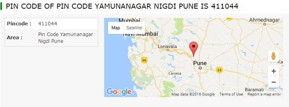 Get detailed information of pin code of Pin Code Yamunanagar Nigdi Pune.You can also search post offices pin code in Pin Code Yamunanagar Nigdi Pune.