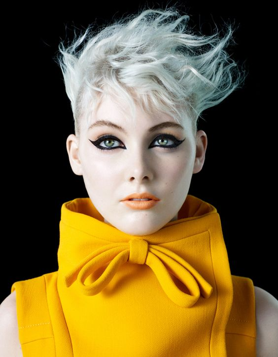 by Lori Novo   Hair - Short   Photography by Michelangelo