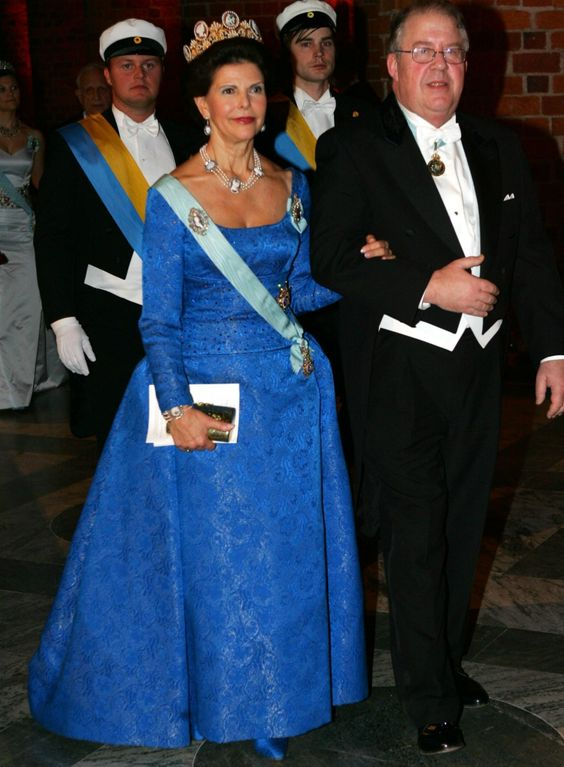 Queen Silvia  at the Nobel prize ceremony in 2005