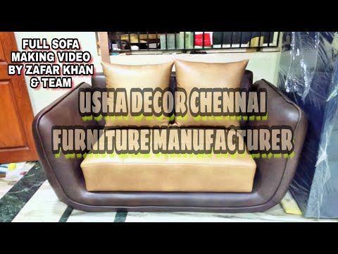 Sofaset Foam Indian Most Unique Design Sofa 2seater Full Upholstery Make Video Usha Decor Chennai Youtube With Images Sofa Cumbed 2seater Sofa Set