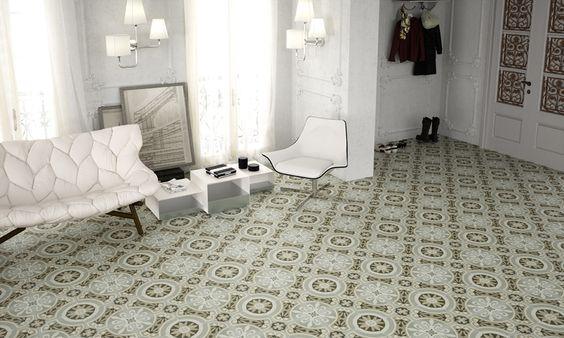 Gré Cérame / Carreaux ciment / Intérieur Design / Carrelage / Aménagement d'intérieur / Nouveauté  SHOWROOM STRASBOURG - MEINAU www.strasbourgcarrelage.com