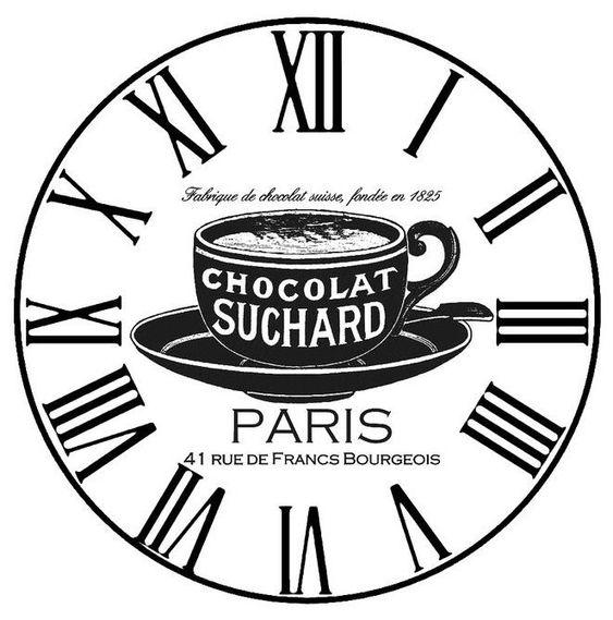 Reloj vintage para cocina cocina im genes para cuadros y - Relojes pared cocina ...