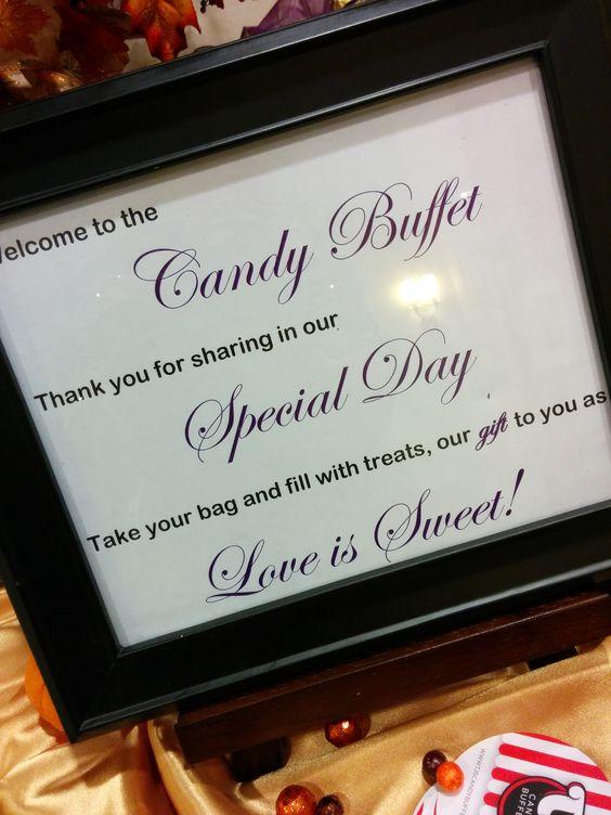 Candy Buffet Sigange