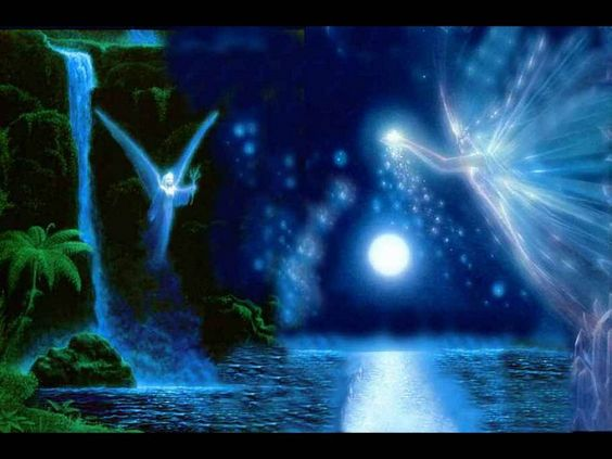 Of Angels and Faeries in the Moonlight
