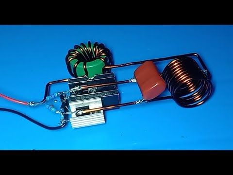 High Current Induction Heater Powerful Induction Heater Using