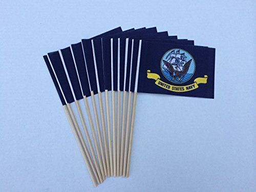 Lot of -12- 4x6 Inch US Navy Desk Hand Held Stick Flags, http://www.amazon.com/dp/B00L3MB2VA/ref=cm_sw_r_pi_awdm_Yyx7tb088ZJTV