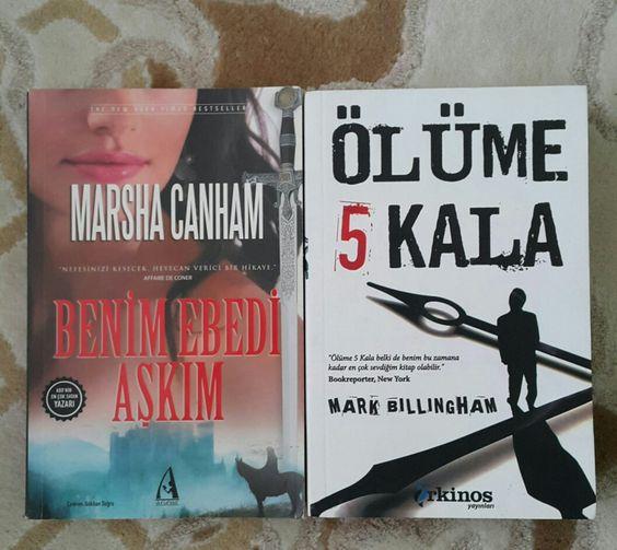 Yeni kitaplarım
