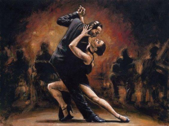 Tango_II__Fabian_Perez_Canvas_Oil_Painting_Reproduction - alu dibond küchenrückwand erfahrung