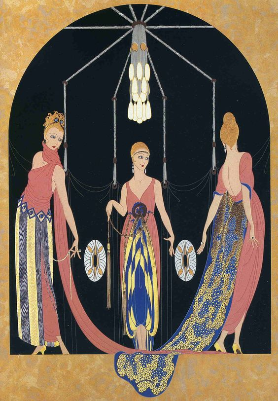 Zobeide by Erte. Art Deco. design: