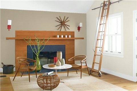 Look At The Paint Colour Combination I Created With Benjamin Moore Via Benjamin Wall Color Combination Color Combinations Paint Paint Colors For Living Room