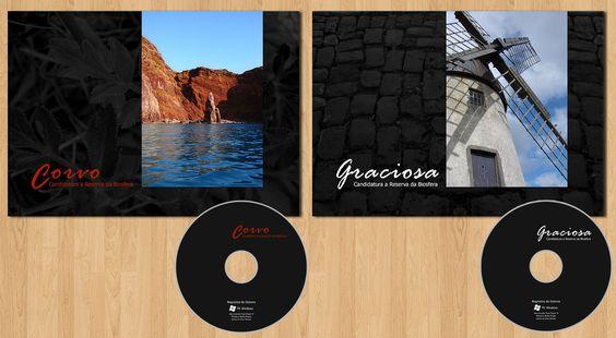 Design, Paginação e autoria de CDs para as candidaturas a reserva da biosfera das ilhas da Graciosa e Corvo. Edição Bilingue