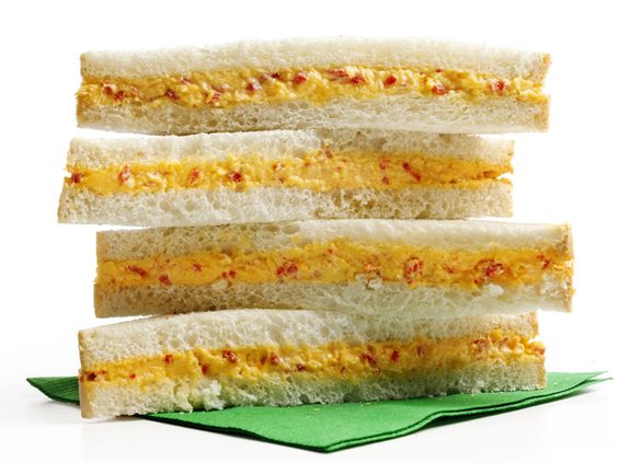 Pimiento Cheese Sandwiches #FNMag: Recipe Food, Pimento Cheese Sandwiches, Cheese Sandwich Recipe, Network Kitchens, Kitchens Food, Food Network/Trisha, Sandwiches Recipe, Sandwich Recipes