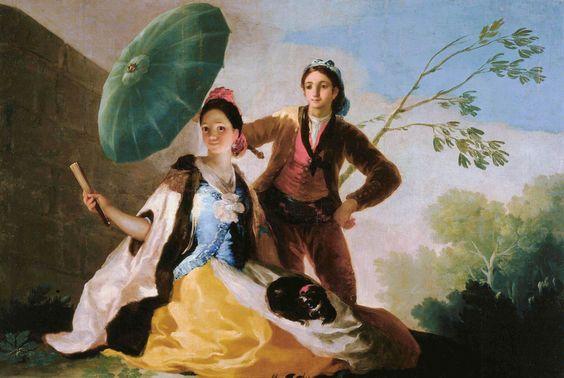 """En esta imagen proporcionada por el Museo de Bellas Artes de Boston, el óleo """"El quitasol"""" del artis... - The Associated Press"""
