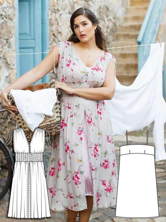 Read the article 'Whimsical Weekend: 9 New Plus Size Patterns' in the BurdaStyle blog 'Daily Thread'.